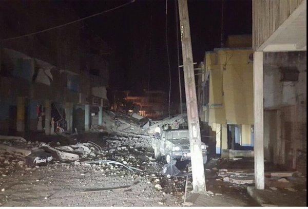 Ecuador Schwerstes Erdbeben seit 1979 II.