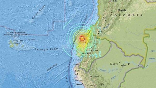 Ecuador Schwerstes Erdbeben seit 1979