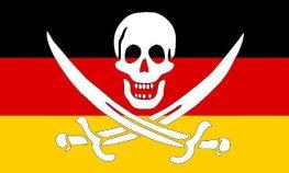 Flagge Gemeinden unter Seehandelsrecht (Piratenrecht)