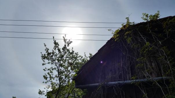 032 Chemtrails über Enzberg 12.30 Uhr 09.05.16