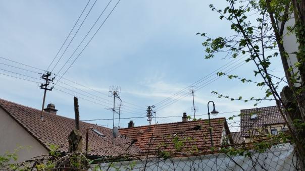 050 Chemtrails über Enzberg 14.00 Uhr 09.05.16