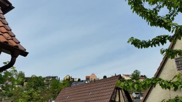 053 Chemtrails über Enzberg 14.00 Uhr 09.05.16
