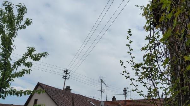 070 Chemtrails über Enzberg 16.00 Uhr 09.05.16
