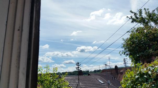 105 Himmel über Enzberg Chemtrails am 27.06.16