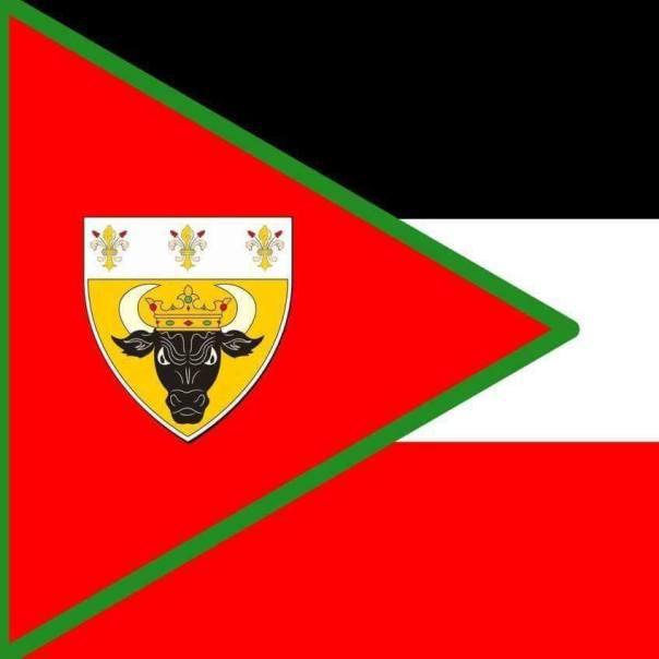 Flagge des Staates Ur