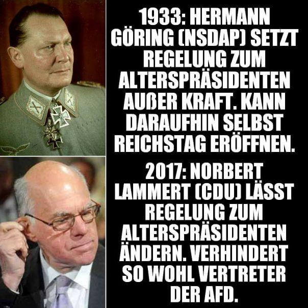Göring vs. Lammert