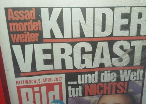 BILD-Zeitung Vergast
