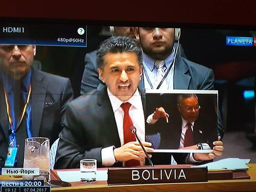 Boliviens UN-botschafter